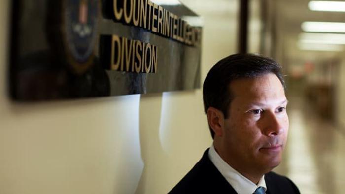 Frank Figliuzzi at the FBI